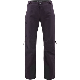 Haglöfs W's L.I.M Touring PROOF Pants Acai Berry